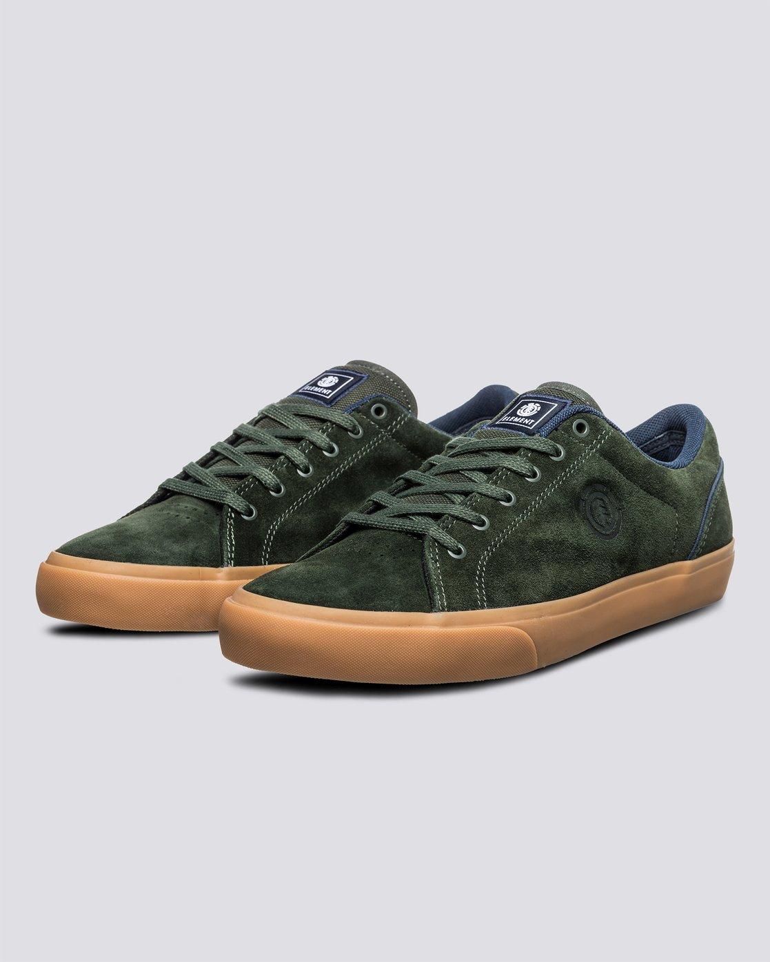 1 Creeton - Shoes for Men Green U6CRT101 Element