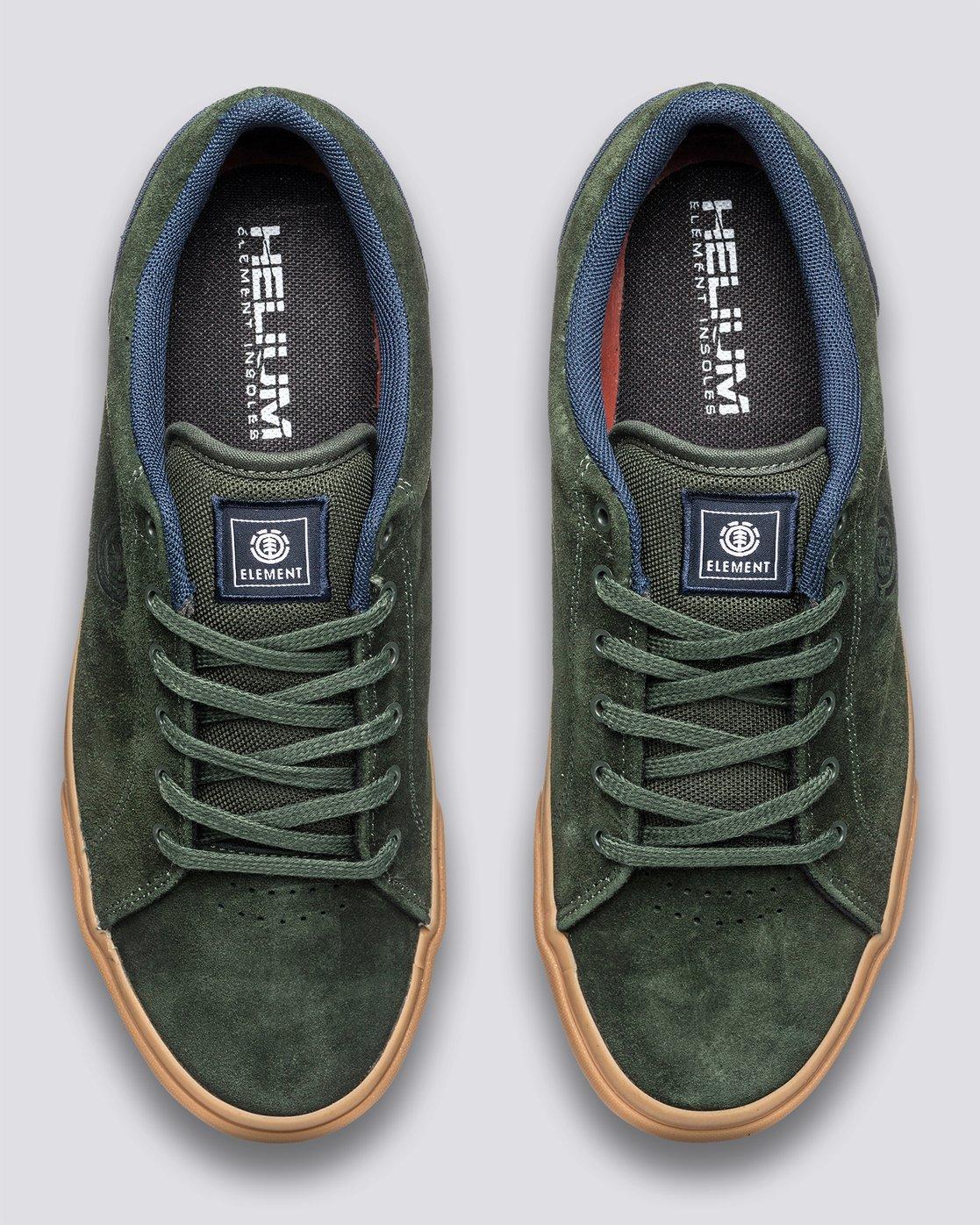 3 Creeton - Shoes for Men Green U6CRT101 Element