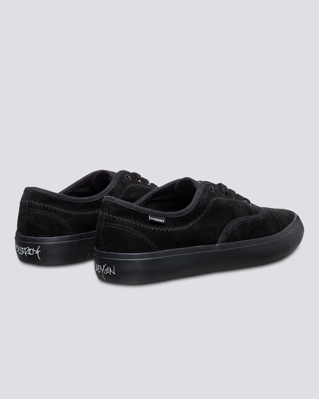 2 Passiph - Shoes for Men Black U6PAS101 Element