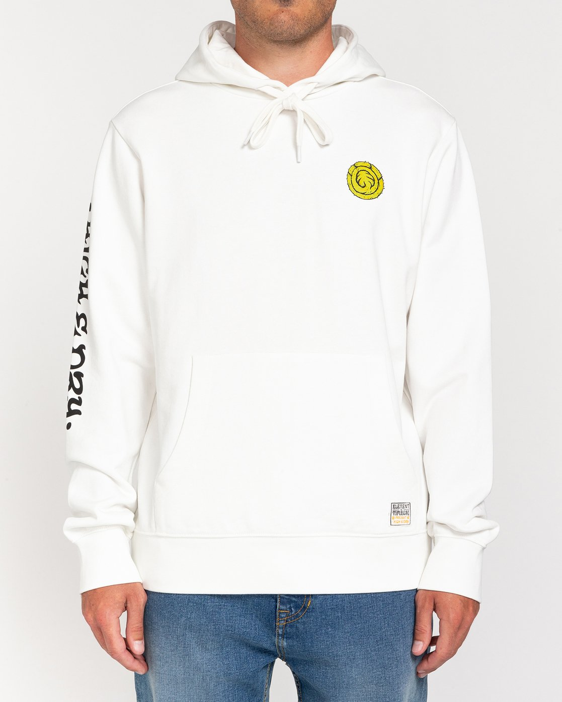 2 Timber! The Vision - Hoodie for Men White W1HOE2ELP1 Element
