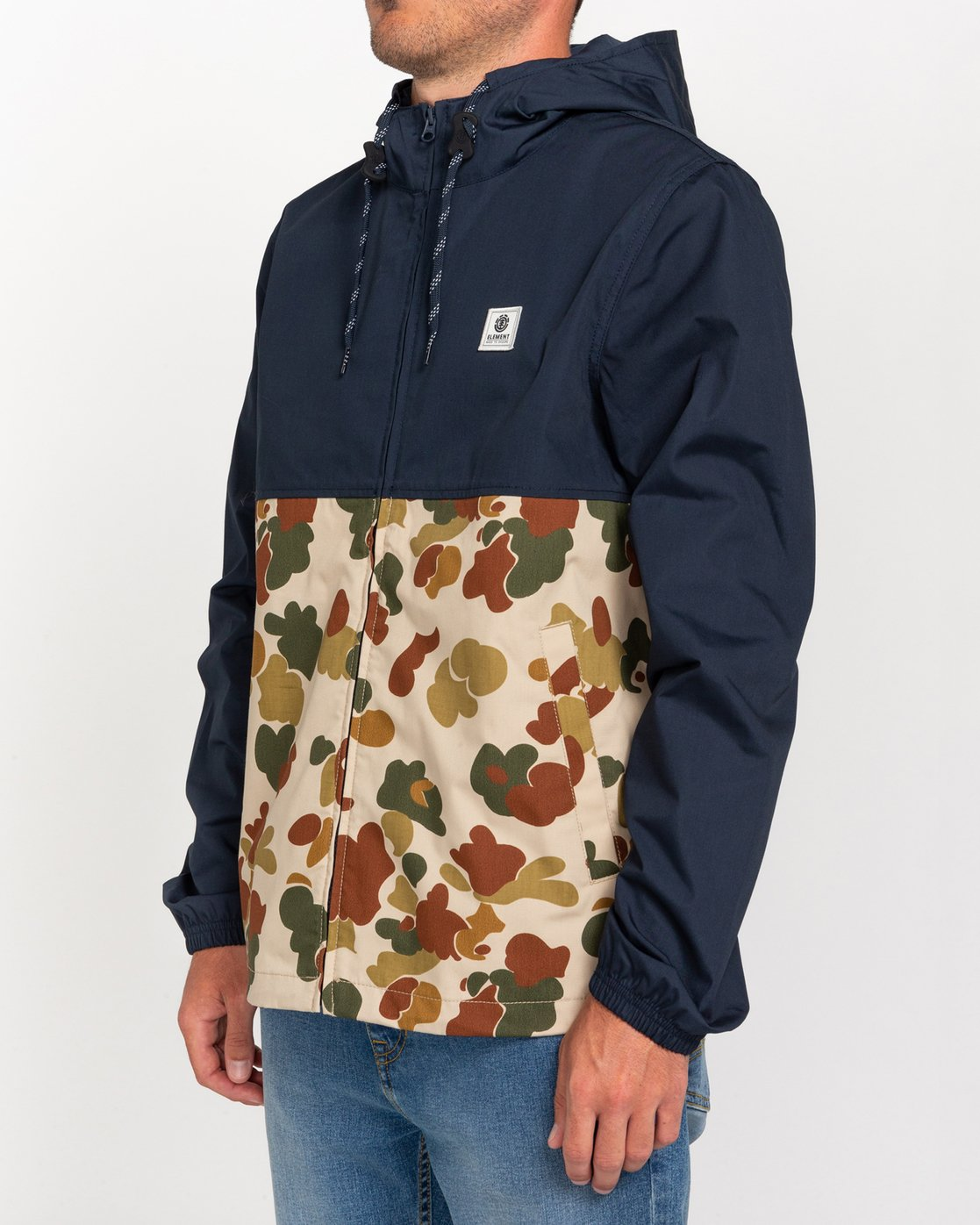 2 Wolfeboro Alder Light 2 Tones - Lightweight Water Resistant Jacket for Men  W1JKC1ELP1 Element
