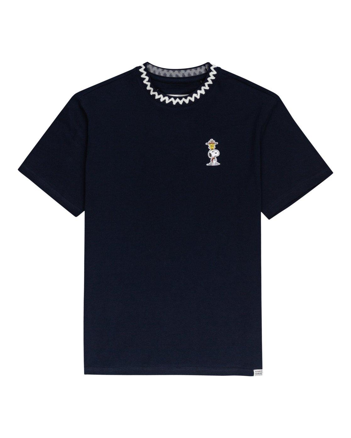 0 Peanuts Patches - T-Shirt für Männer Blau W1KTB8ELP1 Element
