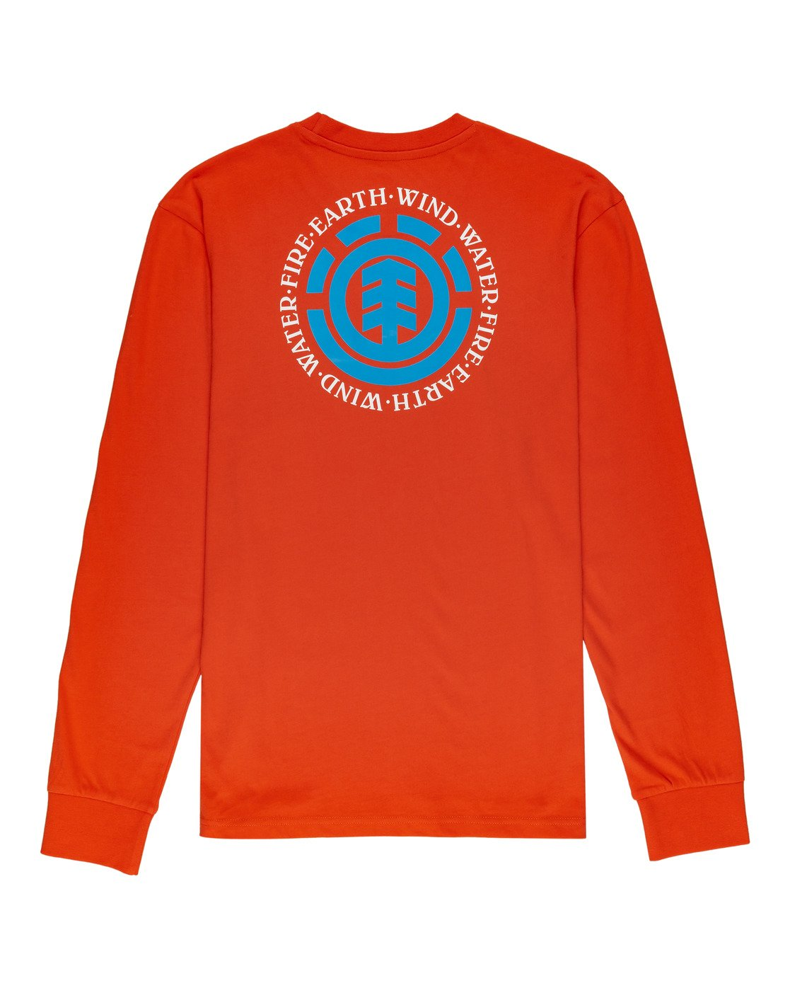 1 Seal - T-shirt manches longues pour Homme Orange W1LSB6ELP1 Element