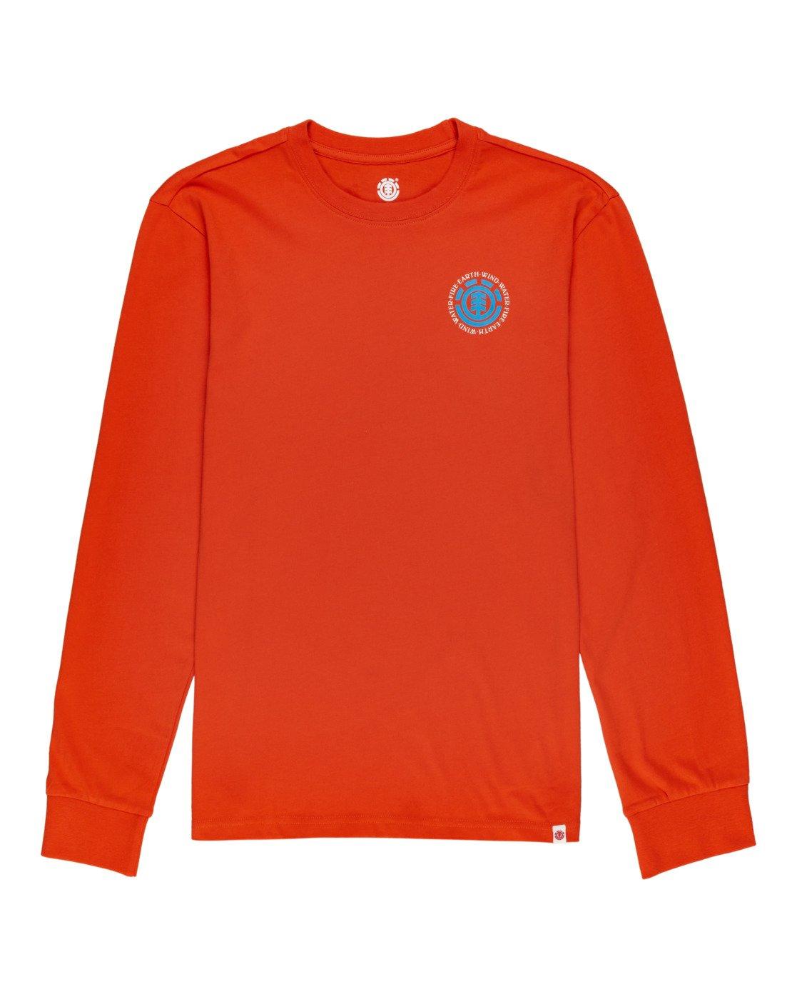 0 Seal - T-shirt manches longues pour Homme Orange W1LSB6ELP1 Element
