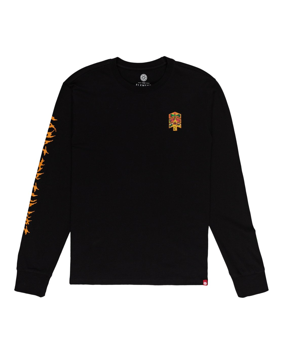 0 L'Amour Supreme Spectral - Long Sleeve T-Shirt Black W1LSC8ELP1 Element