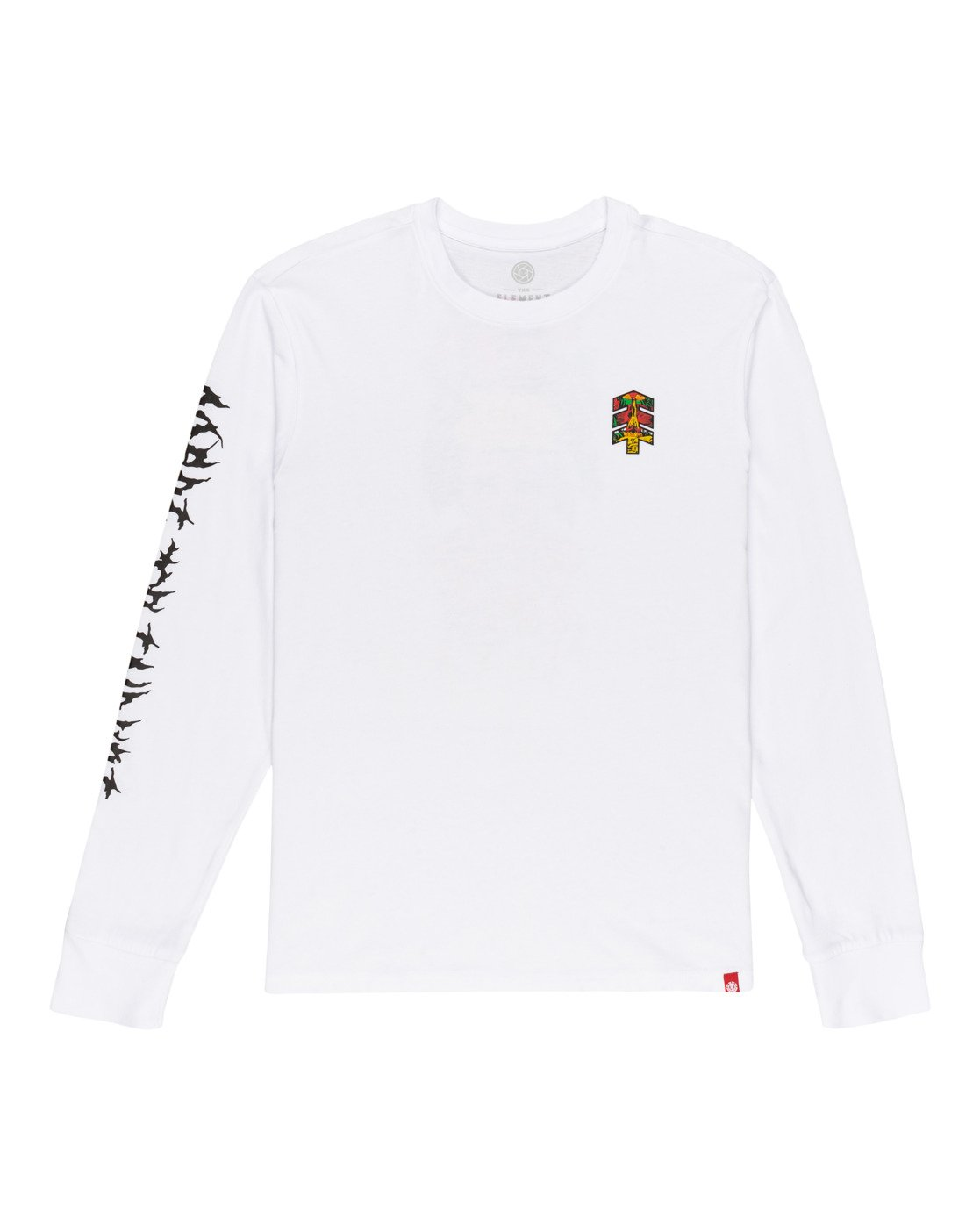 0 L'Amour Supreme Spectral - Long Sleeve T-Shirt White W1LSC8ELP1 Element