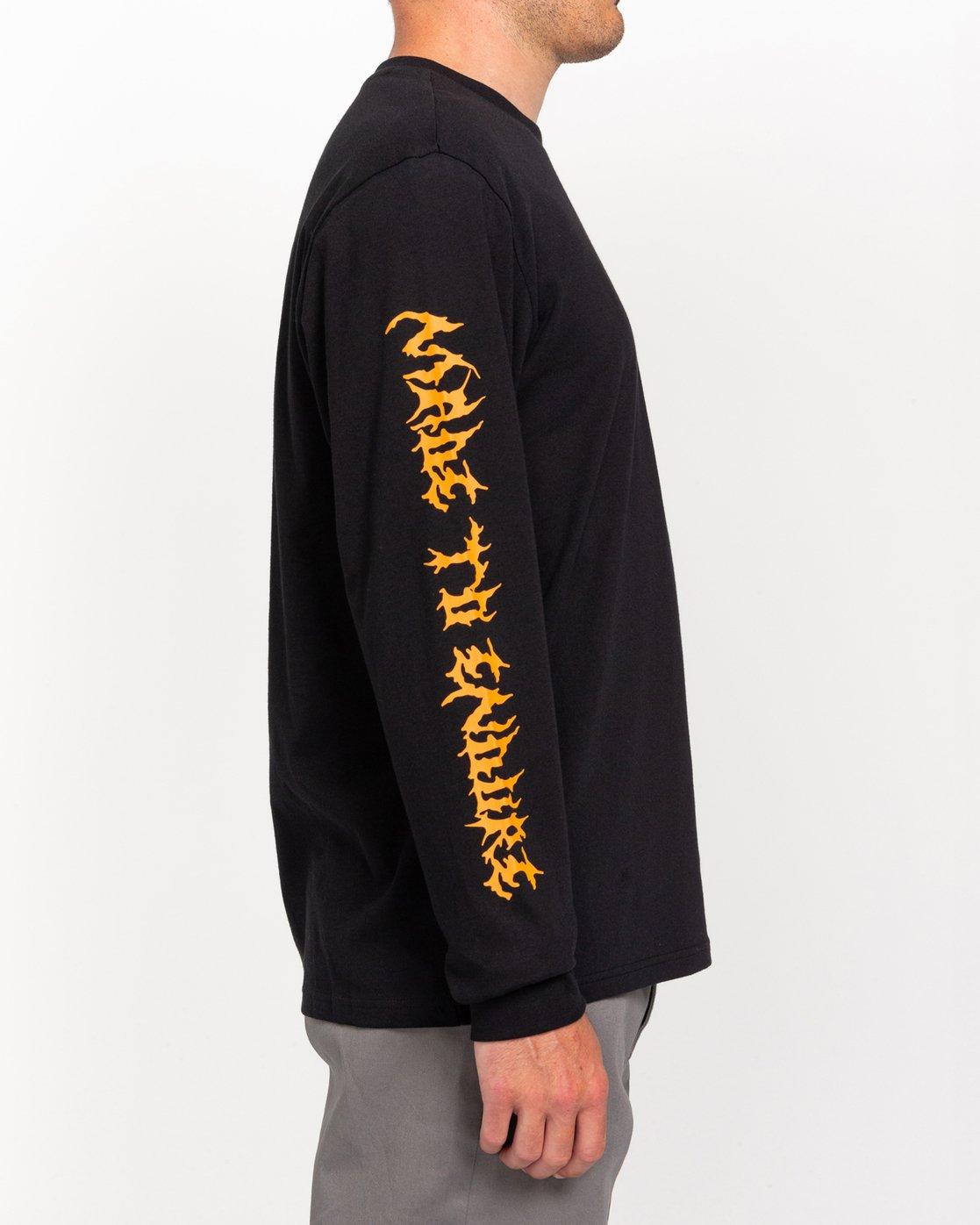 3 L'Amour Supreme Spectral - Long Sleeve T-Shirt Black W1LSC8ELP1 Element