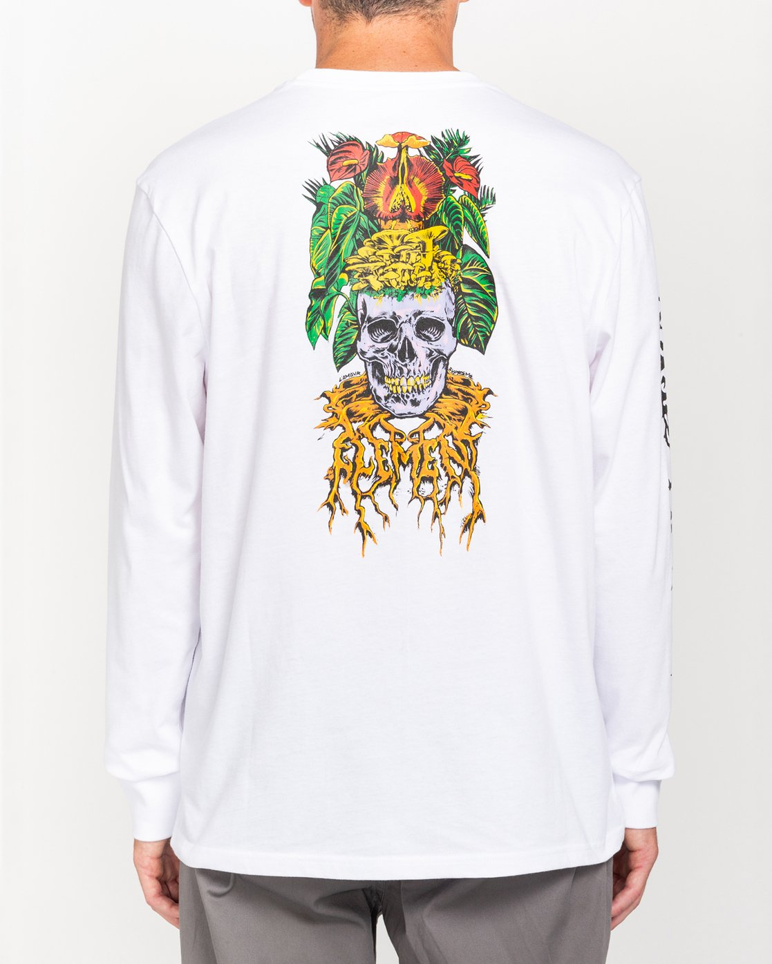 4 L'Amour Supreme Spectral - Long Sleeve T-Shirt White W1LSC8ELP1 Element