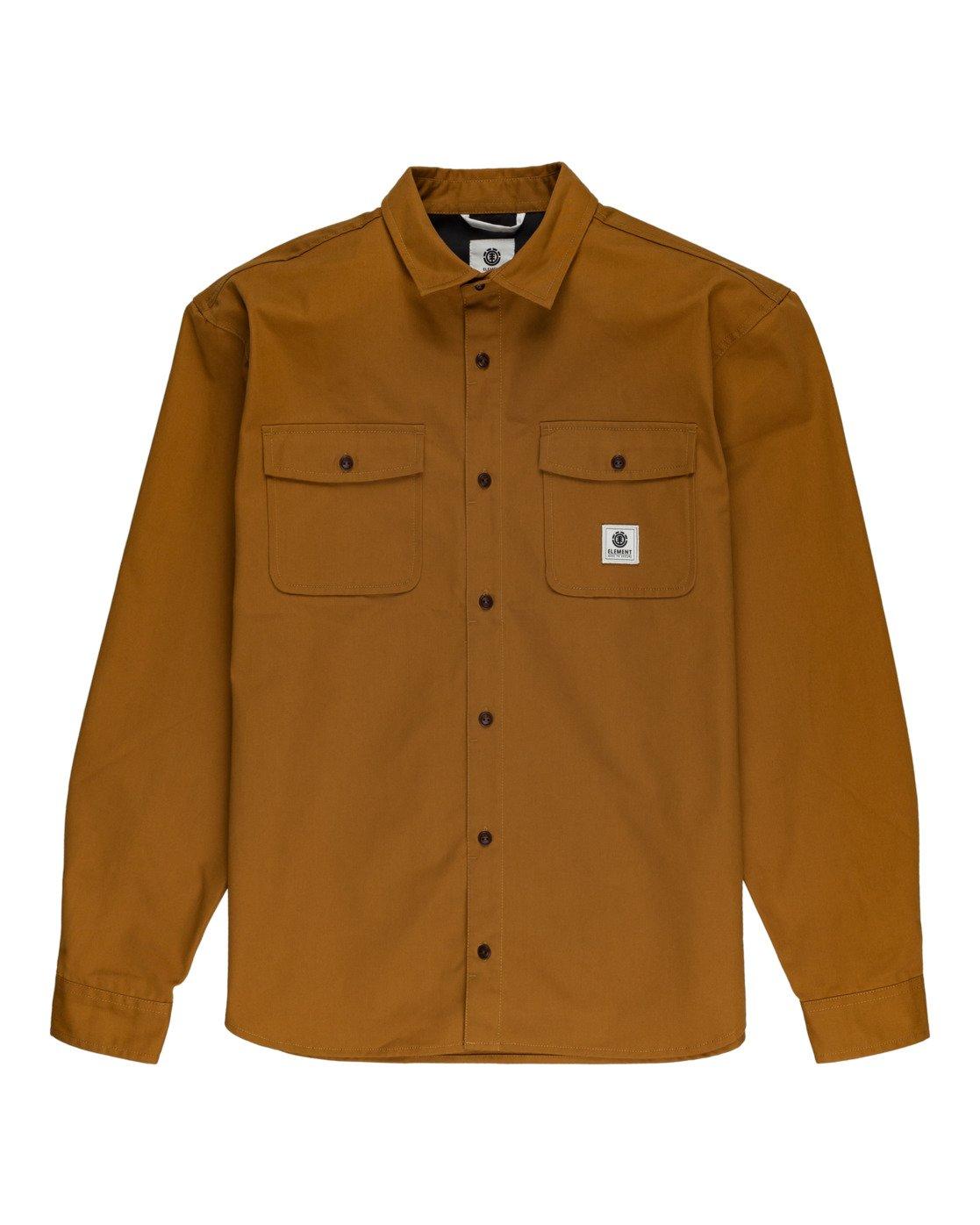 0 Builder Repreve - Long Sleeve Shirt for Men  W1SHB2ELP1 Element