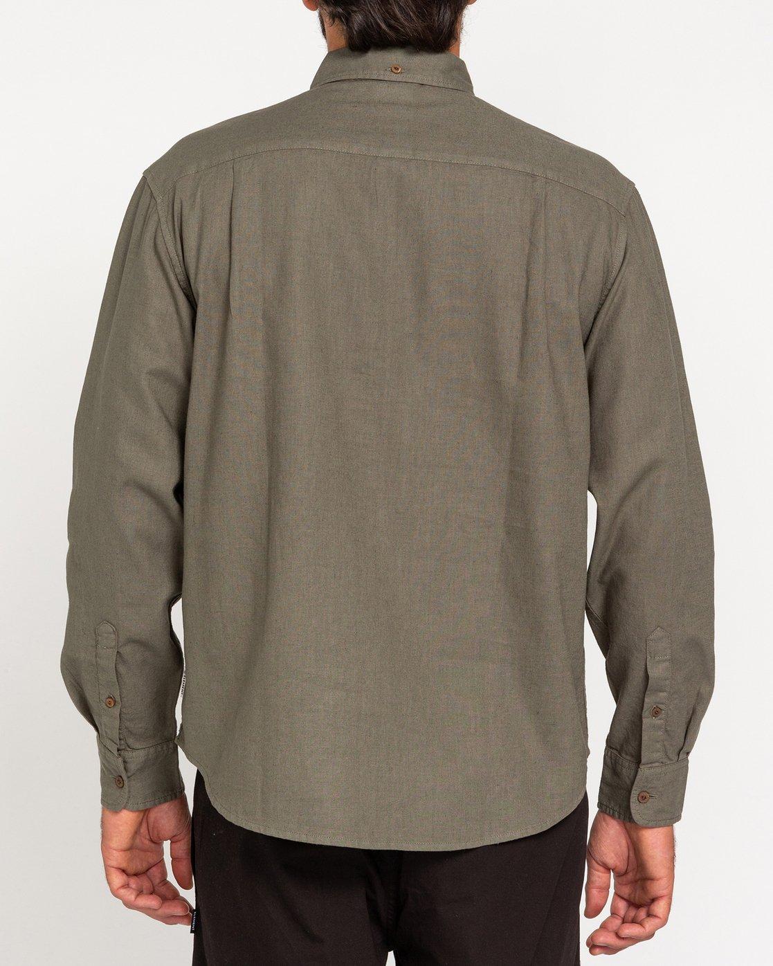 2 Bold Spring - Long Sleeve Shirt for Men Green W1SHB9ELP1 Element