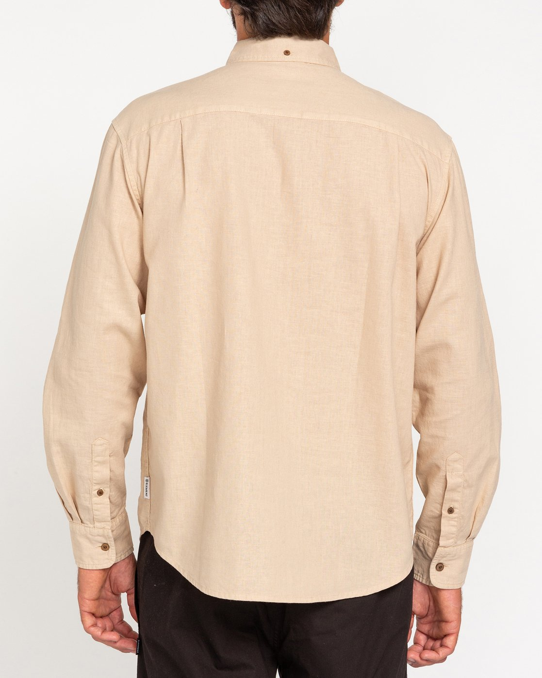 2 Bold Spring - Long Sleeve Shirt for Men Beige W1SHB9ELP1 Element