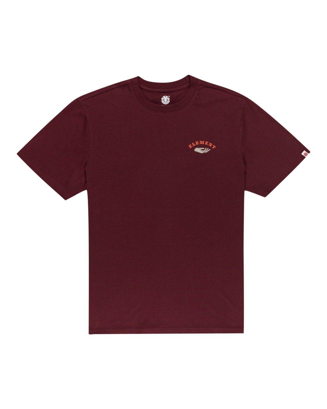 0 Spera - Maglietta da Uomo Red W1SSM6ELP1 Element