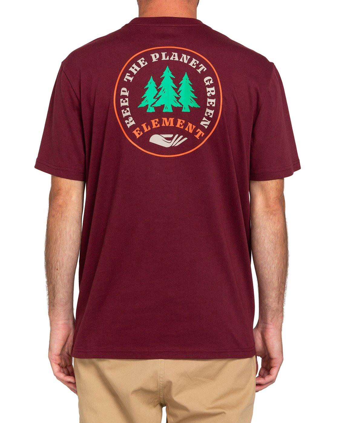 3 Spera - Maglietta da Uomo Red W1SSM6ELP1 Element