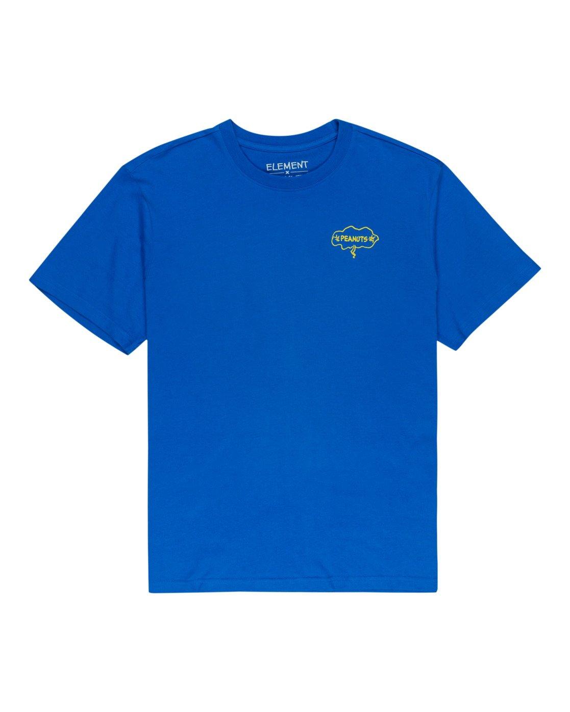 0 Peanuts Slide - T-Shirt for Men Blue W1SSO3ELP1 Element