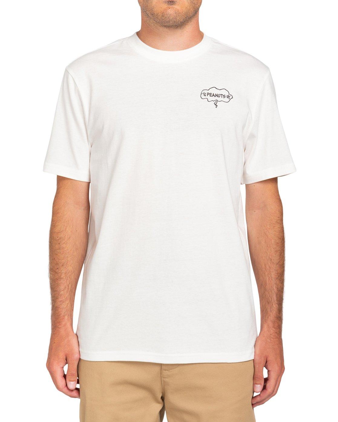 0 Peanuts Slide - T-Shirt for Men White W1SSO3ELP1 Element