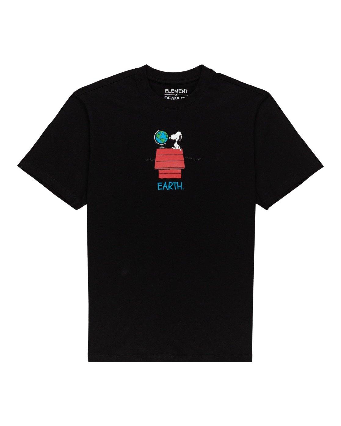 0 Peanuts Element - T-Shirt for Men Black W1SSO5ELP1 Element