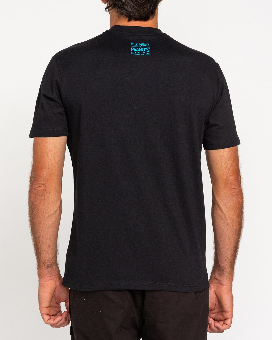 3 Peanuts Element - T-Shirt for Men Black W1SSO5ELP1 Element
