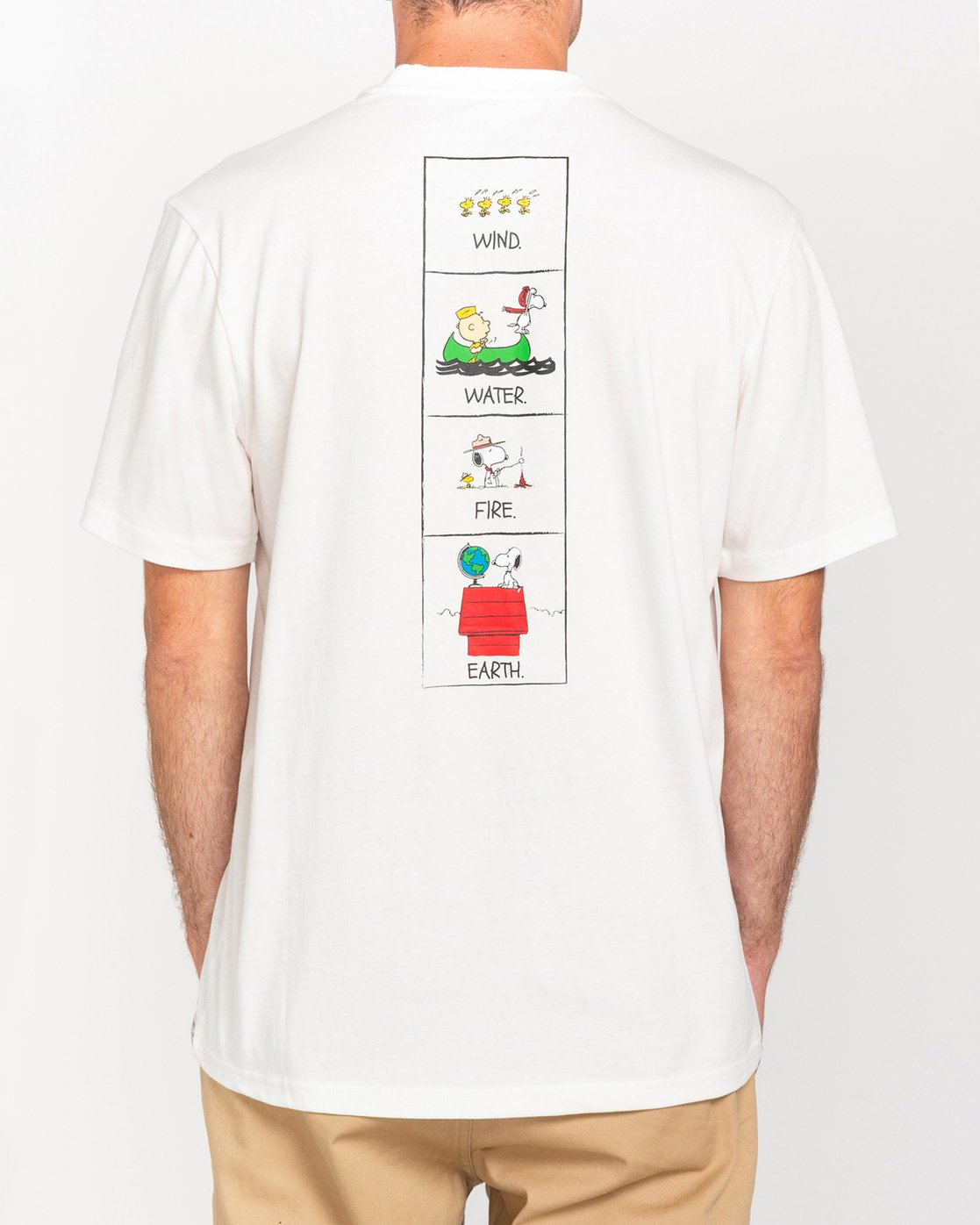 1 Peanuts Page - T-Shirt for Men White W1SSO7ELP1 Element
