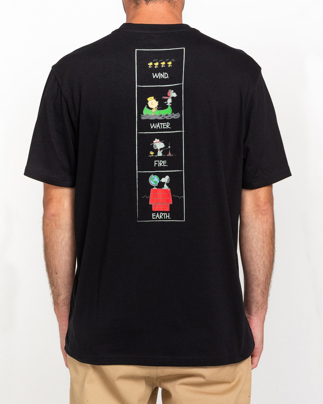 1 Peanuts Page - T-Shirt for Men Black W1SSO7ELP1 Element