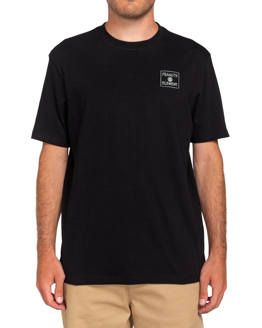 0 Peanuts Page - T-Shirt for Men Black W1SSO7ELP1 Element