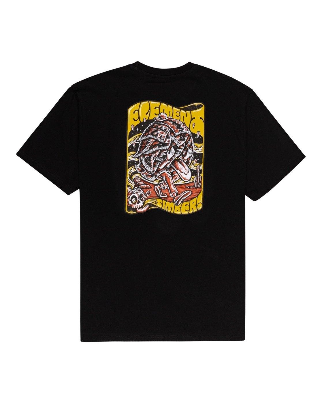 1 Timber! Nomadic - T-Shirt for Men Black W1SSQ4ELP1 Element