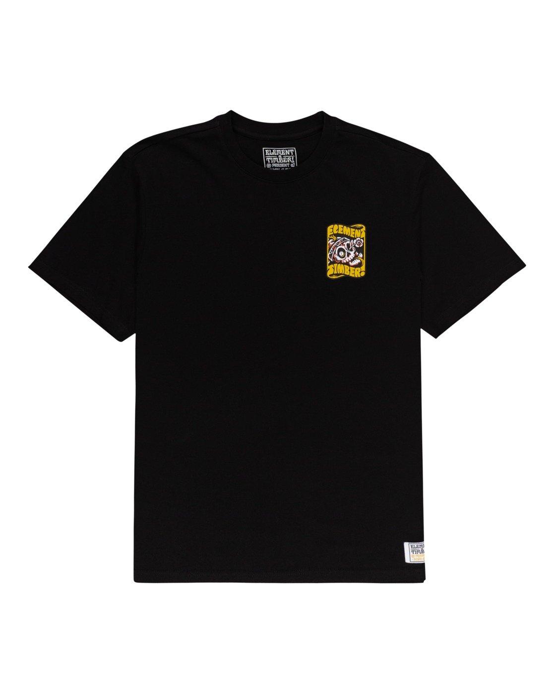 0 Timber! Nomadic - T-Shirt for Men Black W1SSQ4ELP1 Element