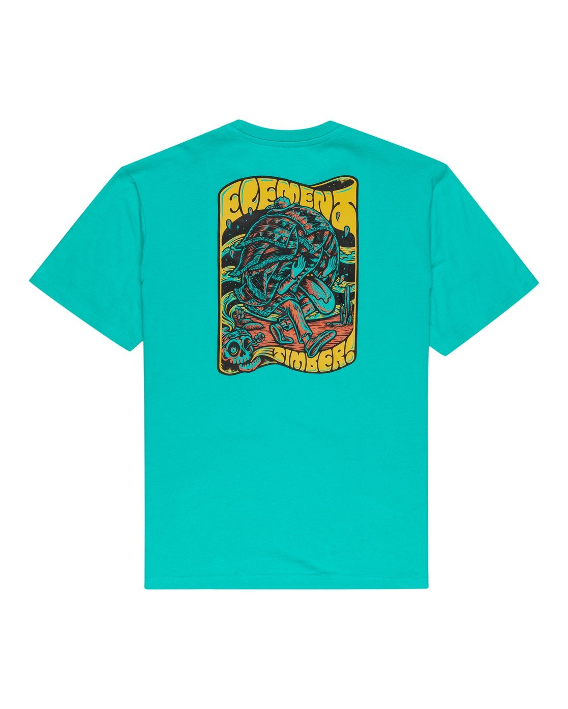 1 Timber! Nomadic - T-Shirt for Men Blue W1SSQ4ELP1 Element