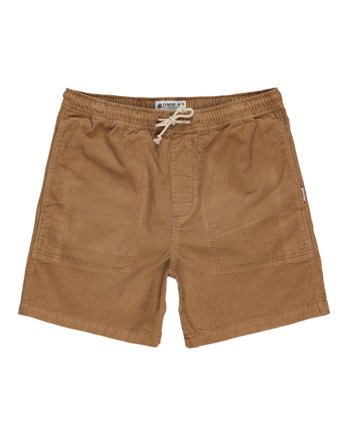 "0 Manual Corduroy 17"" - Corduroy Shorts for Men Grey W1WKC3ELP1 Element"