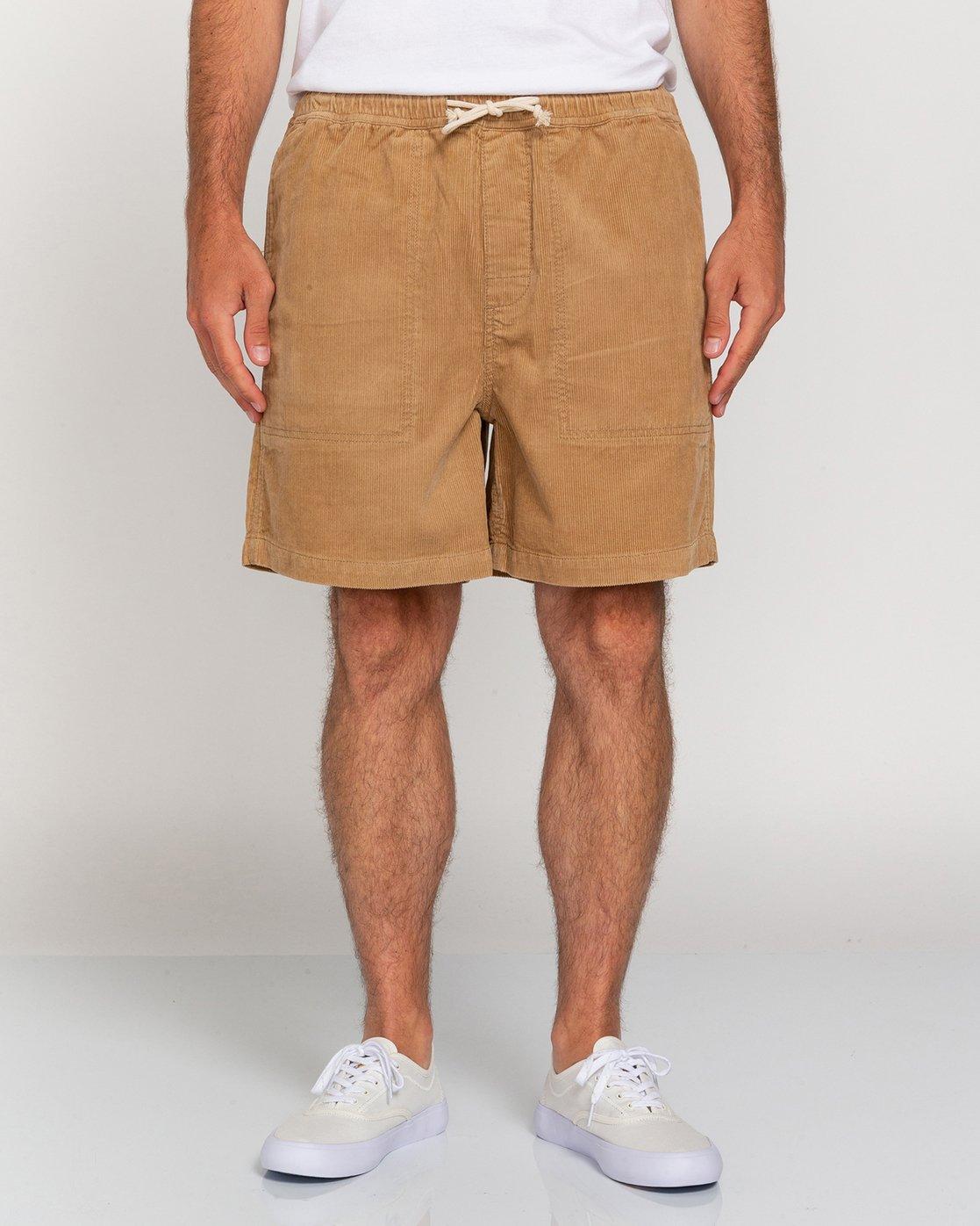 "2 Manual Corduroy 17"" - Corduroy Shorts for Men Grey W1WKC3ELP1 Element"