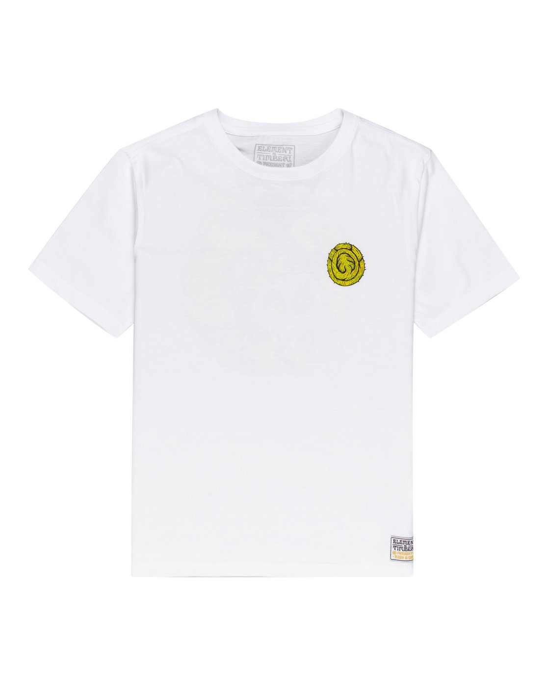 0 Timber! The Vision - T-Shirt for Boys White W2SSG2ELP1 Element