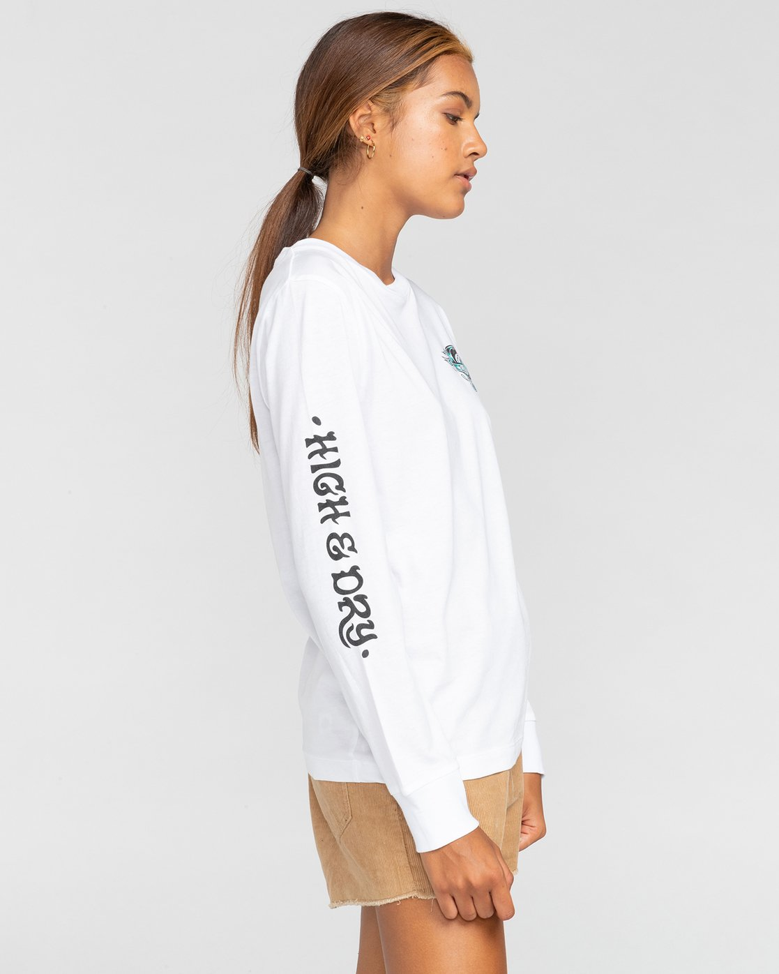 1 Antidote - T-shirt manches longues pour Femme Blanc W3LSA1ELP1 Element