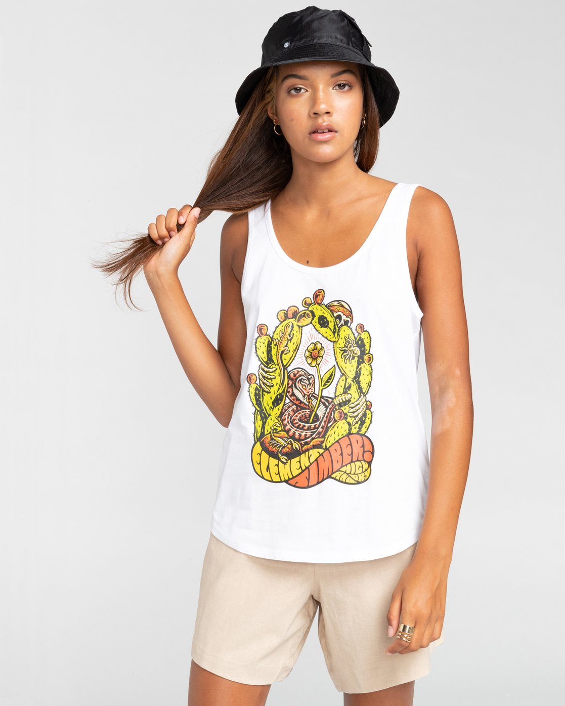 0 Timber! Pick Your Poison Low - Vest Top for Women White W3SGA5ELP1 Element
