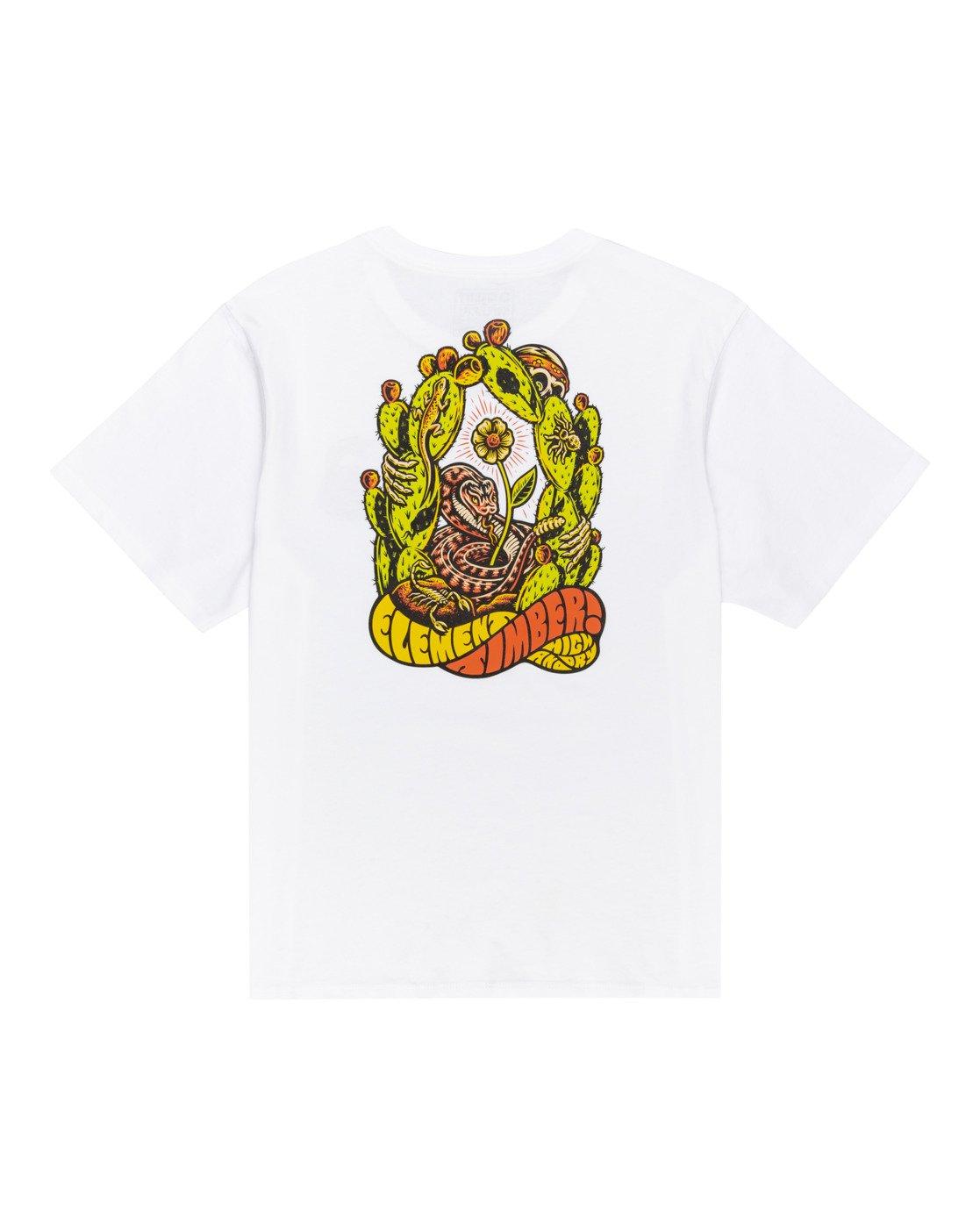 1 Timber! Pick Your Poison - T-Shirt für Frauen Weiss W3SSC7ELP1 Element