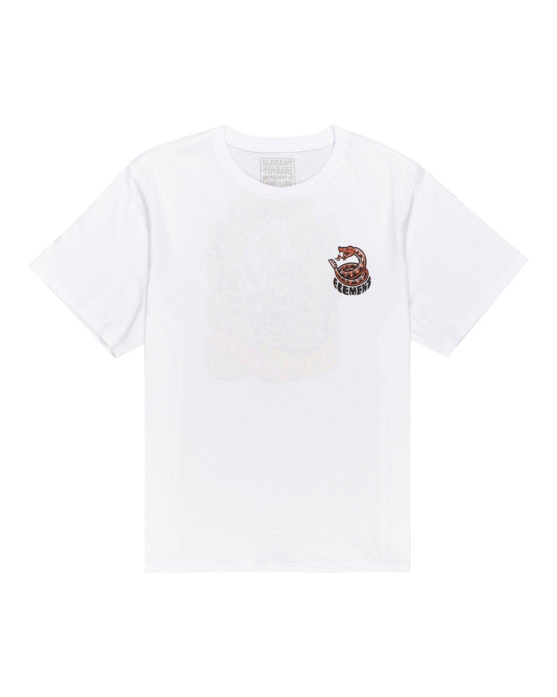 0 Timber! Pick Your Poison - T-Shirt für Frauen Weiss W3SSC7ELP1 Element