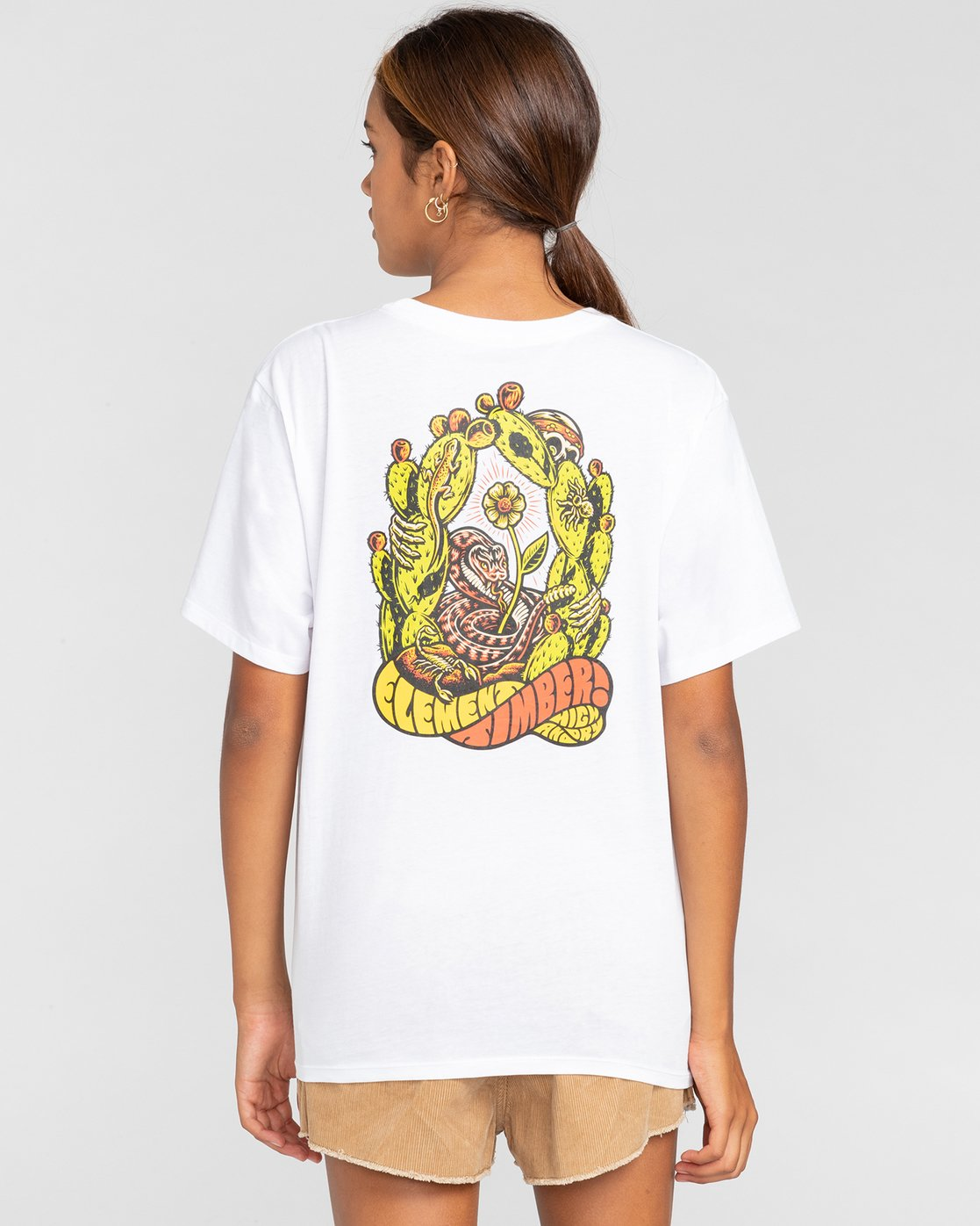1 Timber! Pick Your Poison - T-Shirt for Women White W3SSC7ELP1 Element
