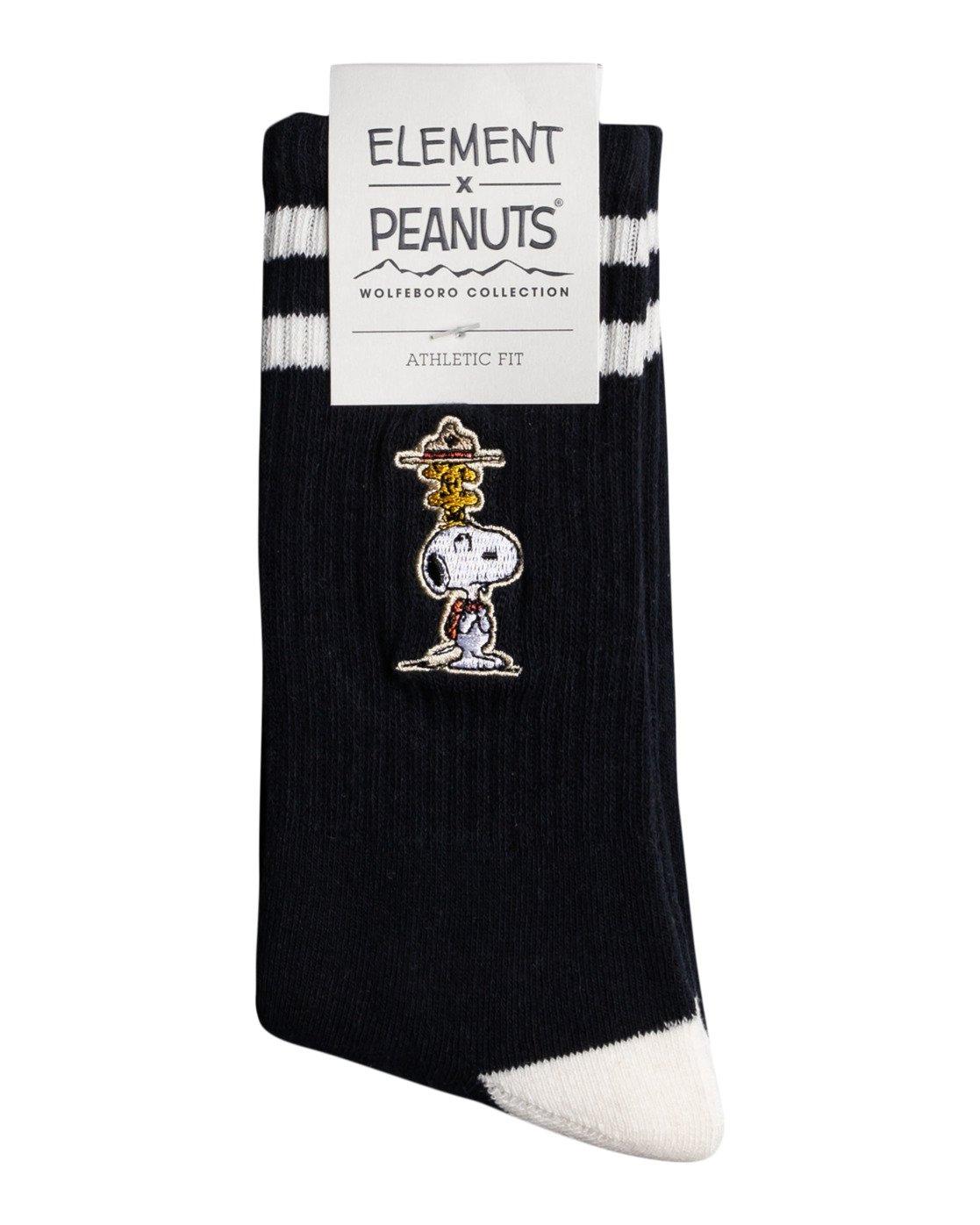 1 Peanuts - Sportliche Skate-Socken für Männer Blau W5SOA5ELP1 Element
