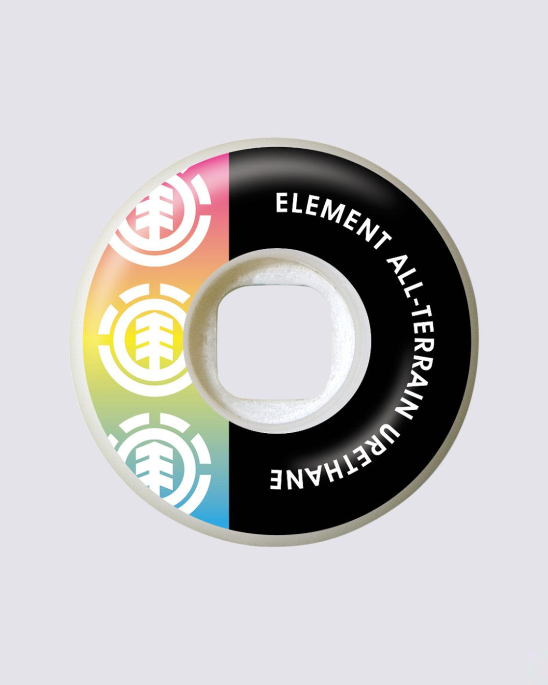 1 Section Rainbow 52MM Wheels  WHLG3RBW Element