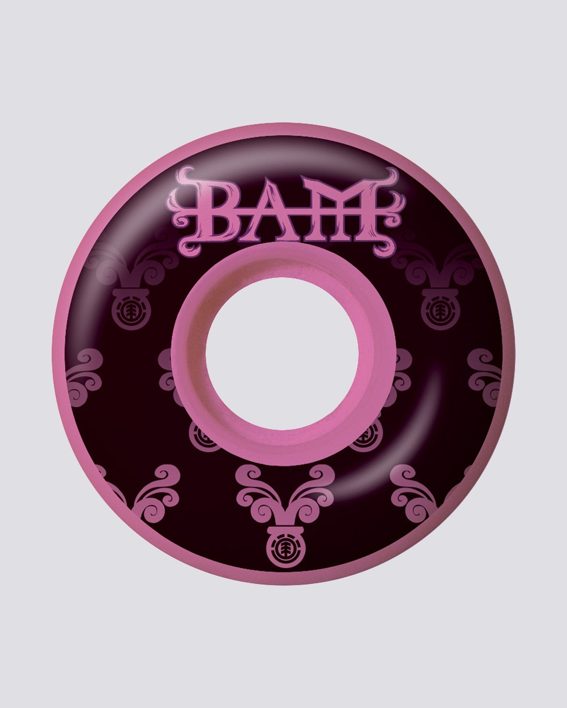 0 Bam Heartagram Pink Wheels  WHPRSBHP Element