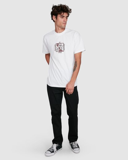 4 NATURAL LAW SHORT SLEEVE TEE White 102004 Element