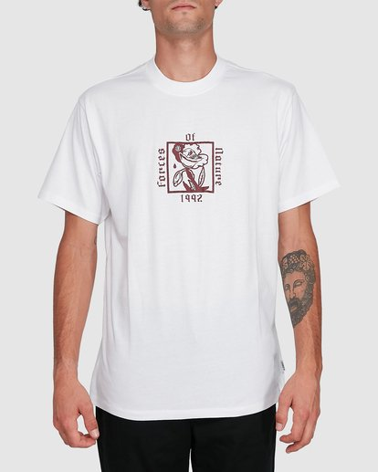 0 NATURAL LAW SHORT SLEEVE TEE White 102004 Element