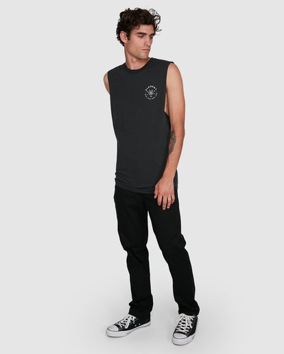 4 MAKE YOUR OWN LUCK MUSCLE TEE  102272 Element