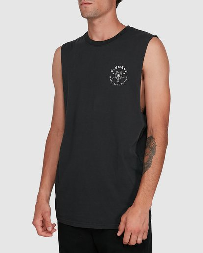 2 MAKE YOUR OWN LUCK MUSCLE TEE  102272 Element