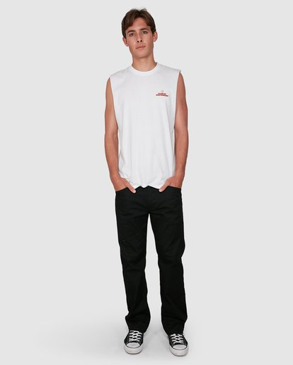 4 FUTURE IS NATURE MUSCLE TEE White 105272 Element