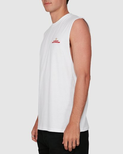 2 FUTURE IS NATURE MUSCLE TEE White 105272 Element