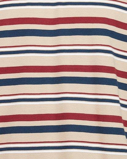 4 Fairway Stripe Ss Tee Grey 107007 Element