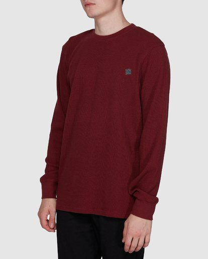 2 SPECTRA LONG SLEEVE TEE Red 107051 Element