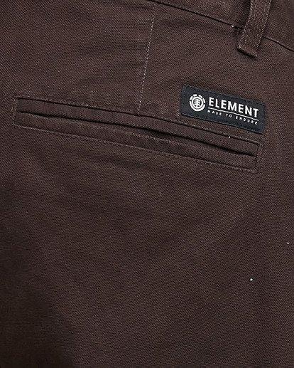 4 MIDTOWN CHINO PANT Brown 107261 Element