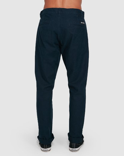 2 MIDTOWN CHINO PANT Blue 107261 Element