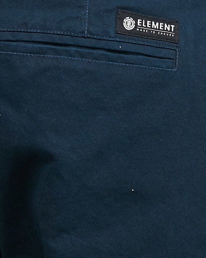 4 MIDTOWN CHINO PANT Blue 107261 Element