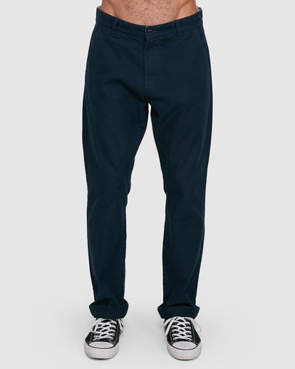 0 MIDTOWN CHINO PANT Blue 107261 Element